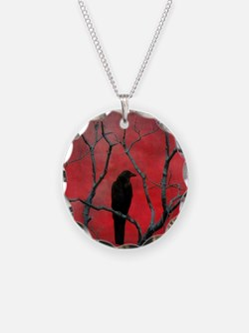 Red Velvet Necklace