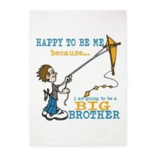 I Am Going to be a Big Brother 5'x7'Area Rug
