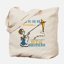 I Am Going to be a Big Brother Tote Bag