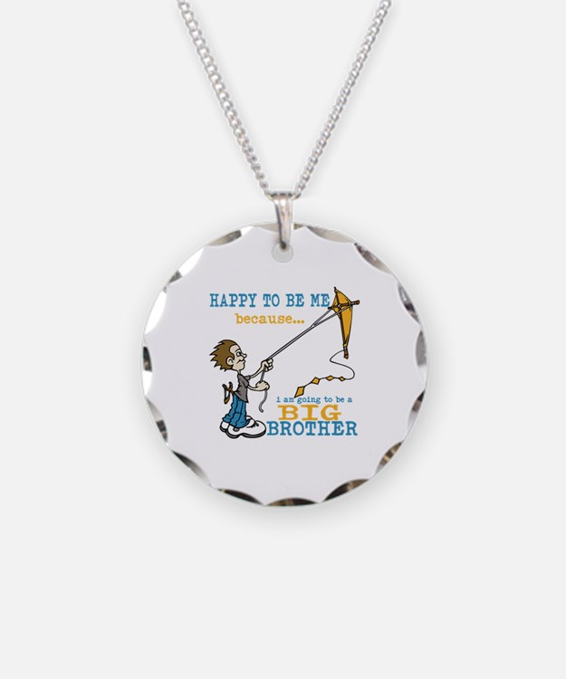 I Am Going to be a Big Brother Necklace
