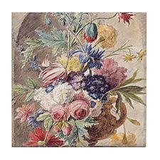 Flower Still Life by Jan van Huysum Tile Coaster