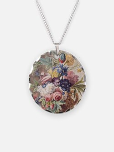 Flower Still Life by Jan van Necklace