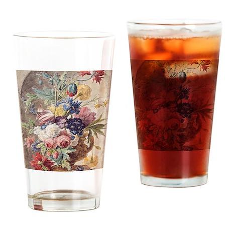 Flower Still Life by Jan van Huysum Drinking Glass