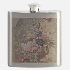 Flower Still Life by Jan van Huysum Flask