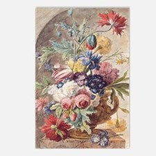 Flower Still Life by Jan  Postcards (Package of 8)