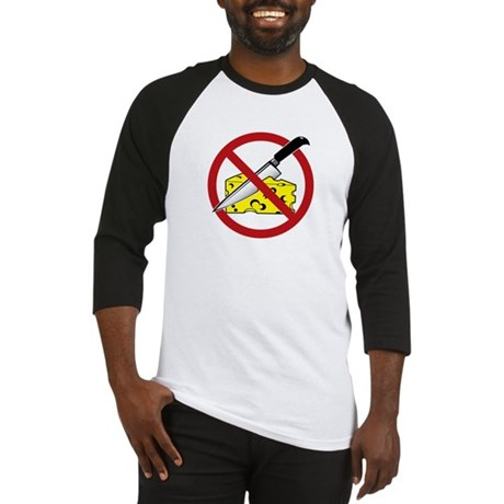 No Cheese Cutting Baseball Jersey