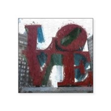"""All You Need Is Love Square Sticker 3"""" x 3"""""""