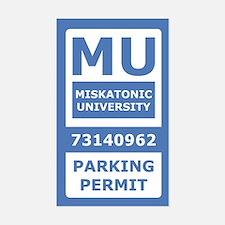 Miskatonic University Parking Pass (Generic)