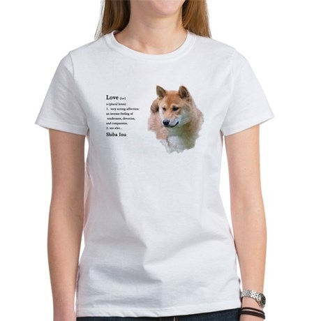 Shiba Inu Love Women's T-Shirt