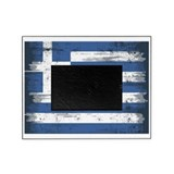 Greek flag Picture Frames