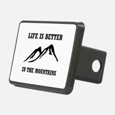 Better In Mountains Hitch Cover