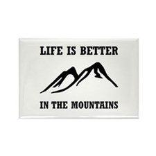 Better In Mountains Magnets