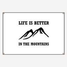 Better In Mountains Banner