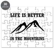 Better In Mountains Puzzle