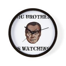 Big Brother Watching Wall Clock