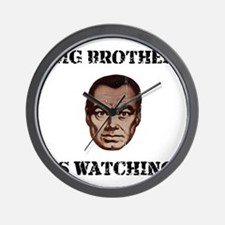 Big Brother Watching Wall Clock
