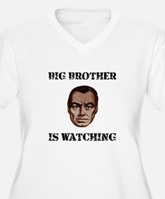 Big Brother Watching Plus Size T-Shirt