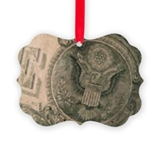The Almighty Dollar Ornament
