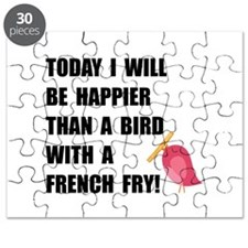 Bird With French Fry Puzzle
