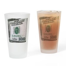 All About The Benjamins Drinking Glass