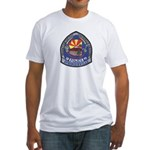 Springerville Police Fitted T-Shirt