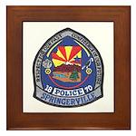 Springerville Police Framed Tile