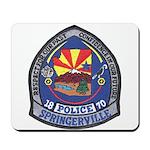 Springerville Police Mousepad