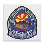 Springerville Police Tile Coaster