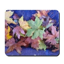 Bunch Of Leaves Mousepad
