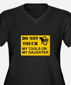 Do Not Touch Daughter Plus Size T-Shirt