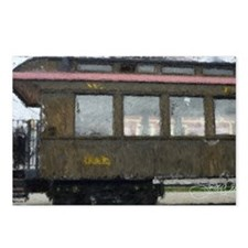 Side Caboose Postcards (Package of 8)