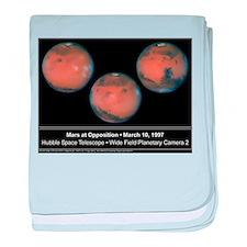 Mars Opposition 1997 baby blanket