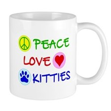 Peace-Love-Kitties Mug