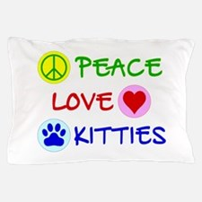 Peace-Love-Kitties Pillow Case