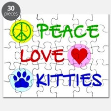 Peace-Love-Kitties Puzzle