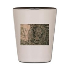 The Almighty Dollar Shot Glass