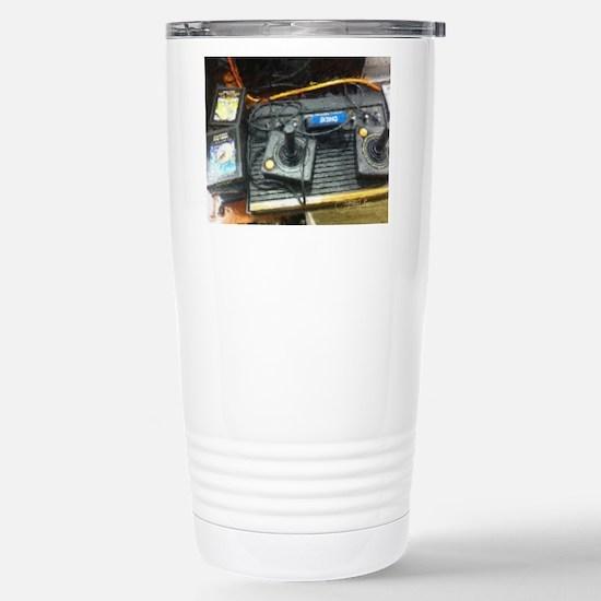 Retro Gamer Stainless Steel Travel Mug