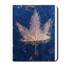 Brown Leaf Mousepad