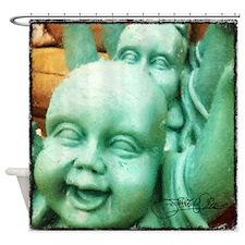 Baby Buddha Shower Curtain