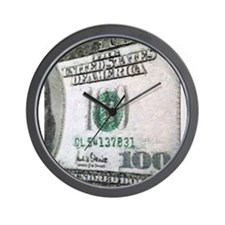 All About The Benjamins Wall Clock