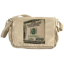 All About The Benjamins Messenger Bag