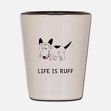 Dog Ruff Shot Glass