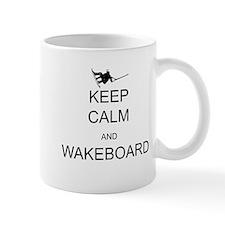 Keep Calm and Wakeboard Mugs
