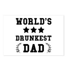 Drunkest Dad Postcards (Package of 8)