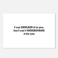 Explain Understand Postcards (Package of 8)