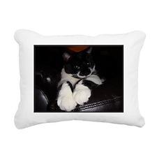 Fat Ted Cat Rectangular Canvas Pillow