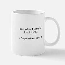 Forgot Where Put Mugs