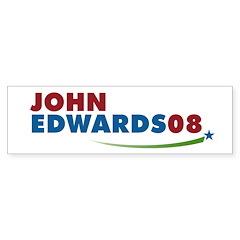 JOHN EDWARDS PRESIDENT 2008 Bumper Bumper Sticker