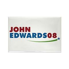 JOHN EDWARDS PRESIDENT 2008 Rectangle Magnet