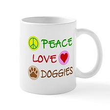 Peace-Love-Doggies Mug